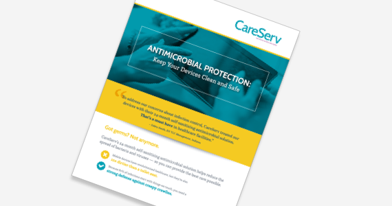 Antimicrobial Protection Solution Sheet